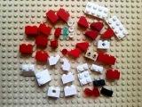 Как сделать Деда Мороза из лего.LEGO самоделка
