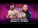 WWE 2K17   Sheamus vs Jeff Hardy   WVW World Televison Champion