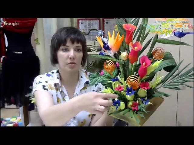 Презентация мастер-класса «Экзотика», свит-дизайн. Мастер Наталья Дроздова.