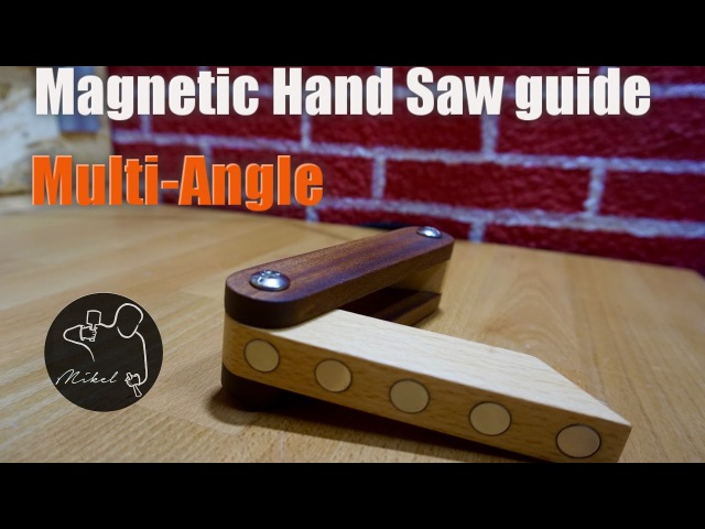 Magnetic saw guide, everybody can make it