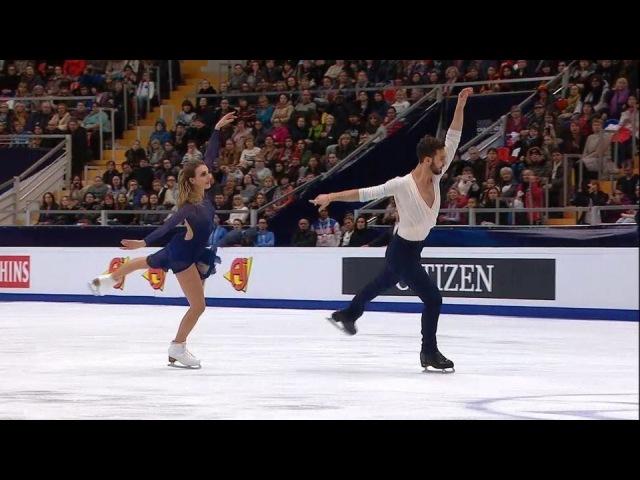 Габриэла Пападакис иГийом Сизерон. Танцы нальду. Произвольная программа. Чемпионат Европы пофигурному катанию 2018