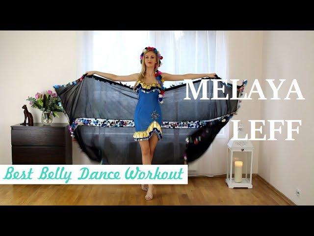 ISKANDARANI basic steps melaya leff tutorial - Best Belly Dance Workout