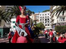 Поход гигантов или игры для взрослых в Испании Lloret de Mar fiesta