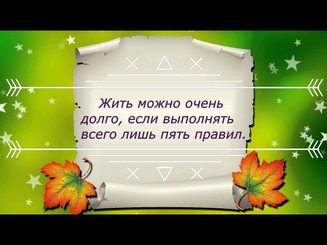 Рецепты долголетия Б Болотова Правило № 1 ИЗМЕНЕНИЕ СООТНОШЕНИЯ МОЛОДЫХ И СТАРЫХ КЛЕТОК