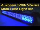 AUXBEAM V-SERIES Bluetooth 120W Multi-Color RGB Light Bar 22