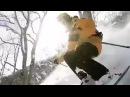 4К Prolike.Снимаю сам. Скоростной спуск. Прогулка на лыжах по зимнему лесу.