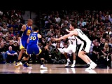 2016-17 Dubs Top Moments Kevin Durant Blocks Twice in San Antonio