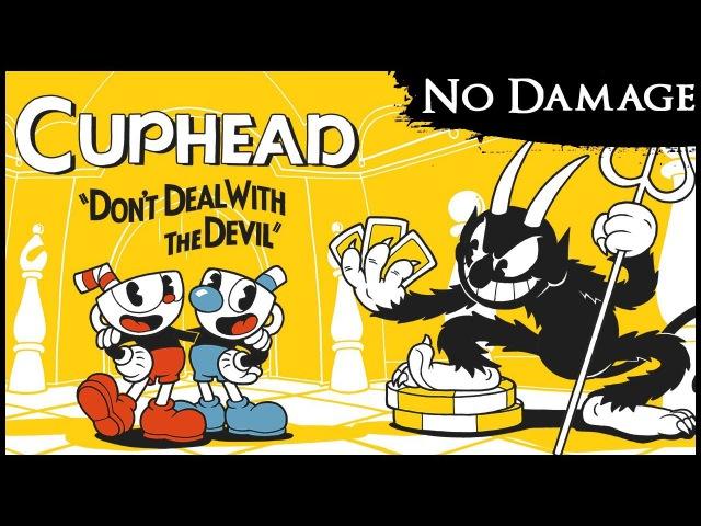 「Cuphead」All Bosses on Regular【A Rank, No Damage, Dashing, Shrink, Charms】