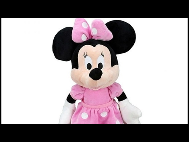 Мягкая игрушка Минни Маус Mickey Mouse Clubhouse Bean Plush Minnie in Pink