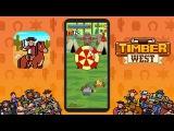 Timber West: Wild West Arcade Shooter (Мод: без рекламы) - Геймплей | Трейлер