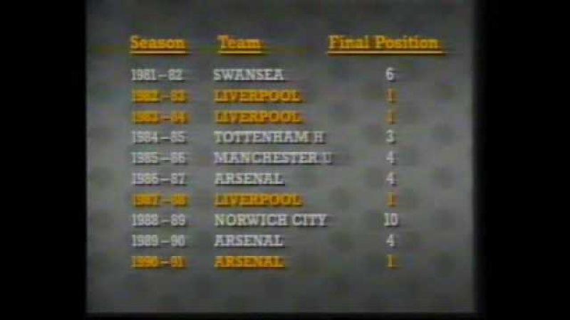 Barclay English League 1991/92 Season Review Part 3/6