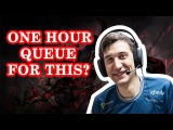 Dota 2: Arteezy - One Hour Queue For This?!