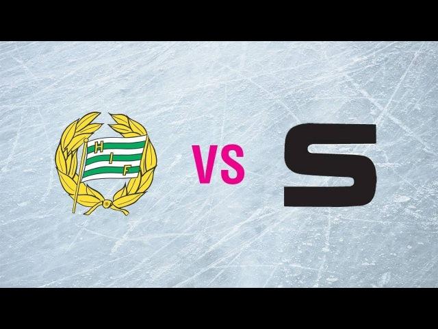 Hammarby IF - Sandvikens AIK/BK. Highlights. Elitserien Herr Semi. 09.03.2018