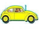 Grandma's Got a Little Yellow Car - Kindergarten Preschool Kids Learn Colors