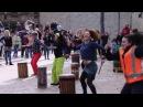 Melbourne Djembe Flash Mob City Square 2016 long version