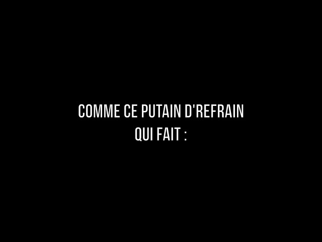 Grégoire - J'veux Qu'ça S'arrête [Lyrics Video]