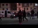 Жестокое побоище ВБильбао подрались российские ииспанские фанаты