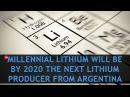 Интервью Next Lithium Producer From Argentina