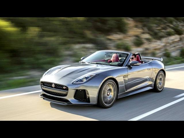 Jaguar F Type SVR Convertible Worldwide '2016