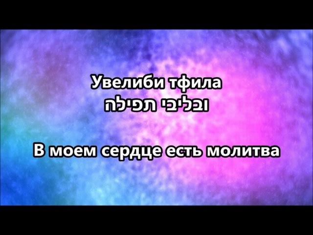 Велиби тфила בליבי תפילה Молитва в моем сердце - Itzik Dadya איציק דדיה Итзик Дадя