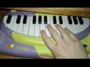 The X Files Theme Cat Piano Cover