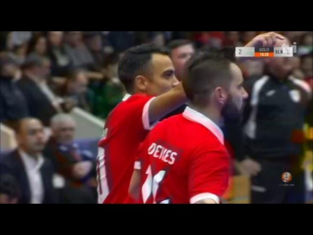 Liga SportZone, 19ºjornada: Leões de Porto Salvo 3 - 4 SL Benfica