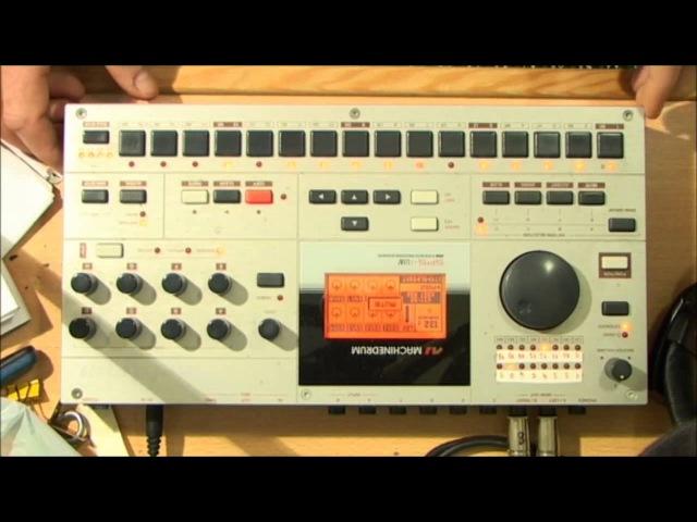 Techno minimal live act no.3 by Kostistlac Elektron Machinedrum UW