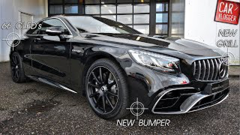 INSIDE the NEW Mercedes-AMG S 63 Coupe 4MATIC 2018 | Interior Exterior DETAILS w/ REVS