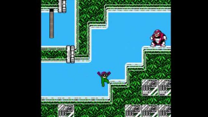 (Nintendo) Riddler's Escape From Arkham (Megaman 3 Rom Hack) Part 1 - Robin