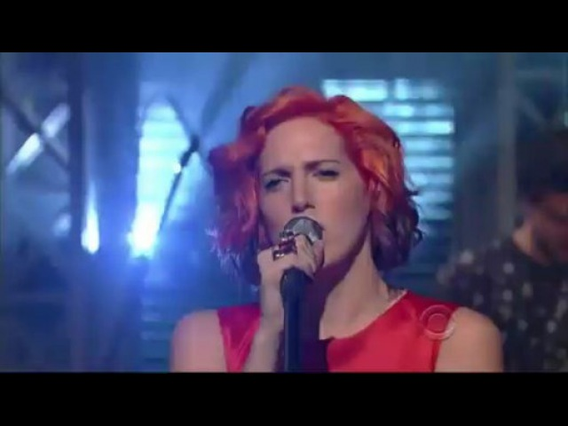 MS MR - Hurricane [Live on David Letterman] - Video Dailymotion