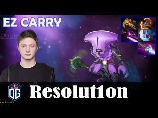 Resolution - Faceless Void Safelane | EZ CARRY 7.08 Update Patch | Dota 2 Pro MMR Gameplay