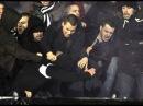 Grobari (Partizan) fight with Zabranjeni (13.12.2017)