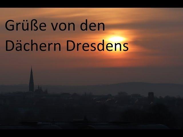 Gruß von den Dächern Dresdens