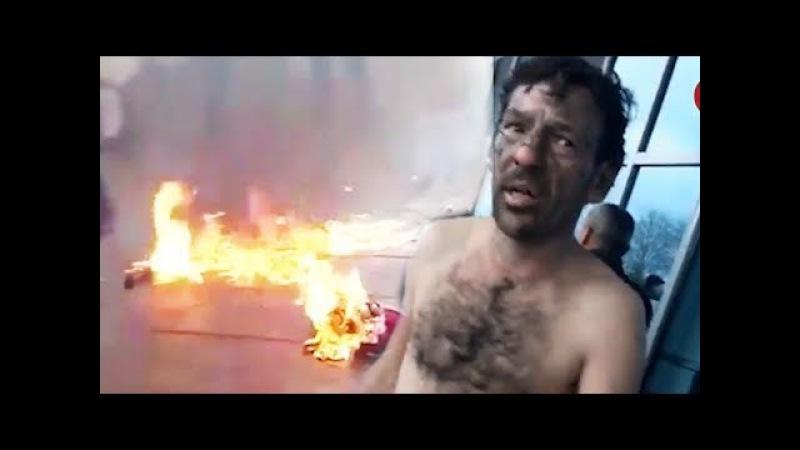 Yol Polisinə etiraz edən sürücü özünü yandırdı - Polis açıqlama yaydı (16.01.2017)