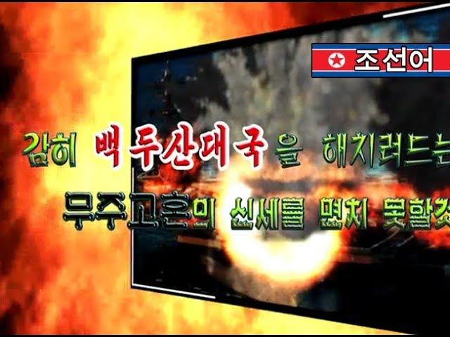 North Korean video shows destruction of US airforce USS Carl Vinson