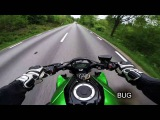 Speed Run - 2015 Kawasaki Z1000 &amp Suzuki GSXR 1000 K7