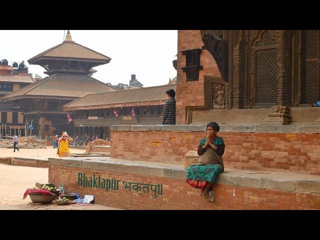 Walking on the streets of Kathmandu - Nepal