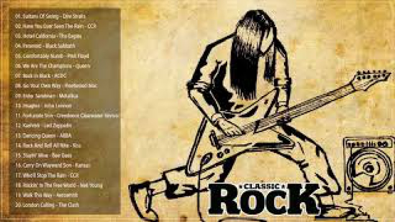 Best Rock Songs Of All Time - Greatest Classic Rock Songs The 70's 80's 90's