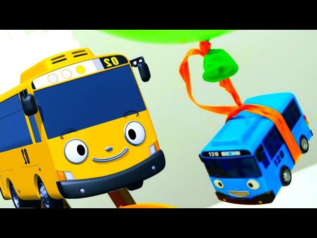 Tayo the little bus. Tayo's birthday present