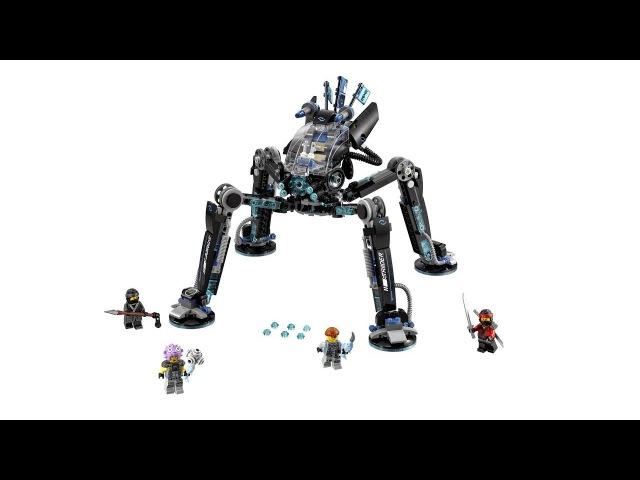 LEGO NINJAGO Водяной Робот 70611 - Быстрая сборка лего