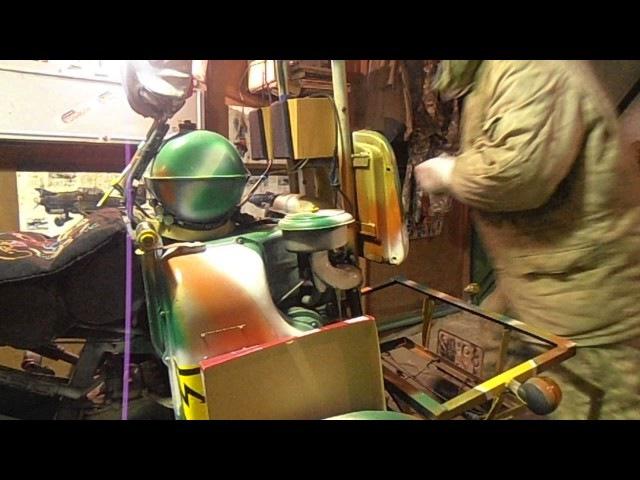 Сист.зажигания УД-2 самодельного трицикла БИНЧ ч.1