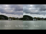 Nokia 7 vs Galaxy Note 8 SteadyShots, Video & Mic Test