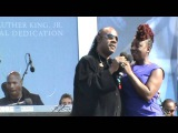 Stevie Wonder and Ledisi....What a Wonderful World