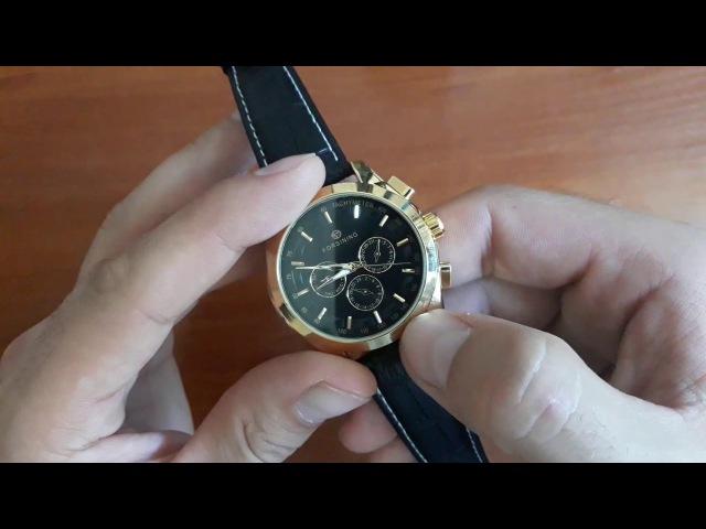 Обзор и настройка Механичкеские часы Forsining GMT Стильные мужские часы