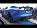 Jaguar F type Project 7 SOUNDS Revs Acceleration Autovisie Cars Coffee XXL