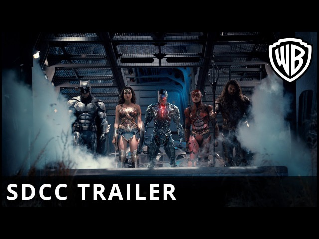 «Лига справедливости» (The Justice League) - Comic Con Trailer