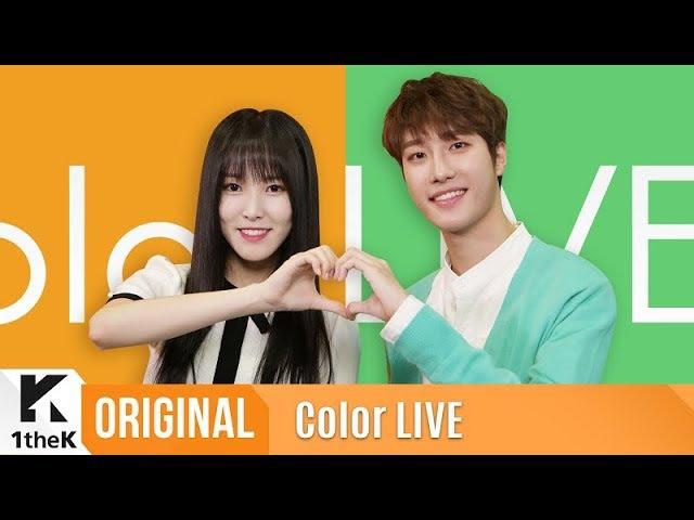 Color LIVE(컬러라이브) YUJU(GFRIEND), JIHOO(IZ)_HEART SIGNAL(유주(여자친구),지후(아이즈)_하트시그널)