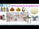 Automatic HFFS 180 horizontal pouch forming filling sealing sachet packing machine