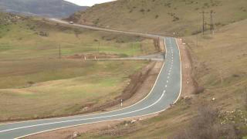 Tovuzda 3 istiqamət üzrə 11 km avtomobil yolu yenidən qurulub