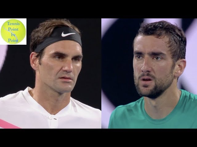 Full Match Highlights - Roger Federer vs Marin Cilic - AO 2018 Final